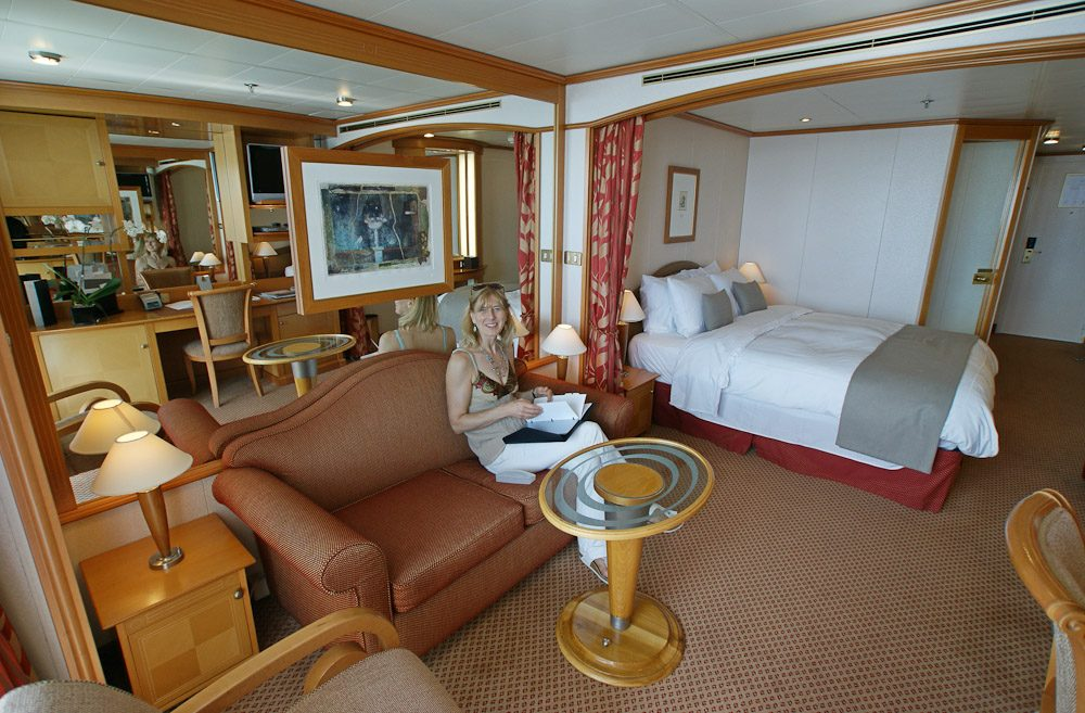 Radiance Of The Seas - A Room Interior