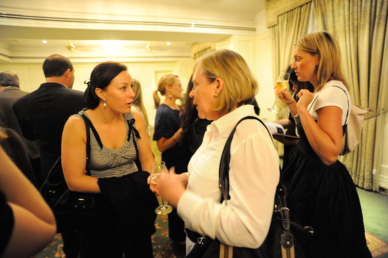 Lisa Phillips does her best OMG!! I am sooo shocked face, as she speaks with Freelancer Alison Plummer Martin