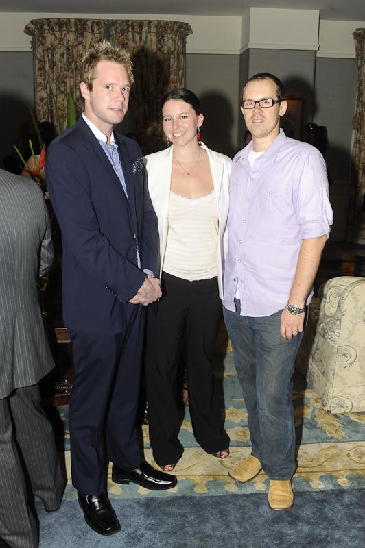 Alex Barnett (Australian Traveller), Sarah Megginson and Christo (96.1 FM)