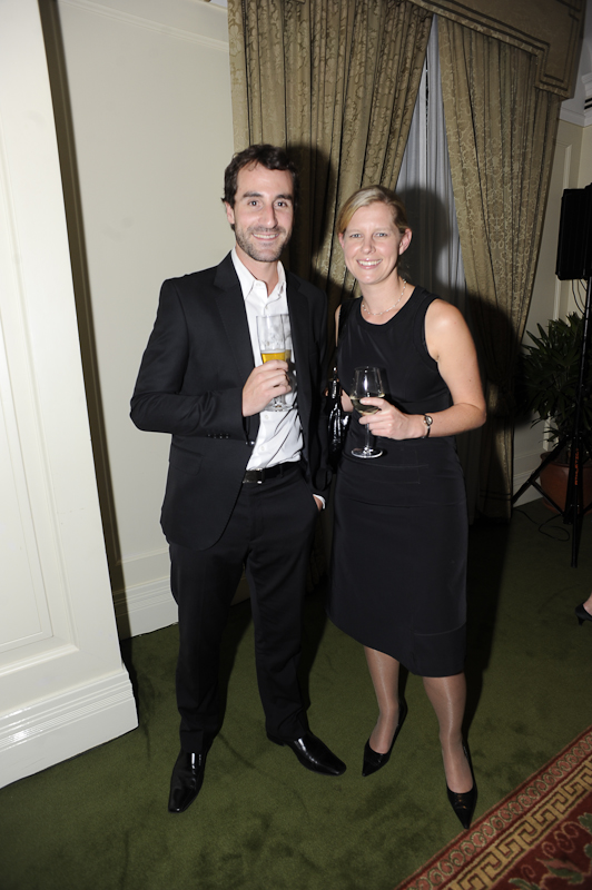 Chris Macleod (Canon), and Sarah Vickery (Four Seasons)
