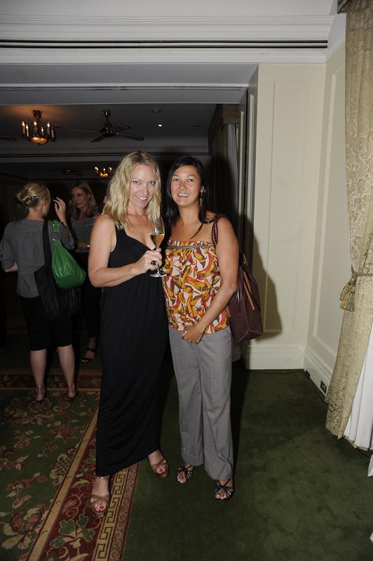 Susan Quan and Vatsana Vongmany