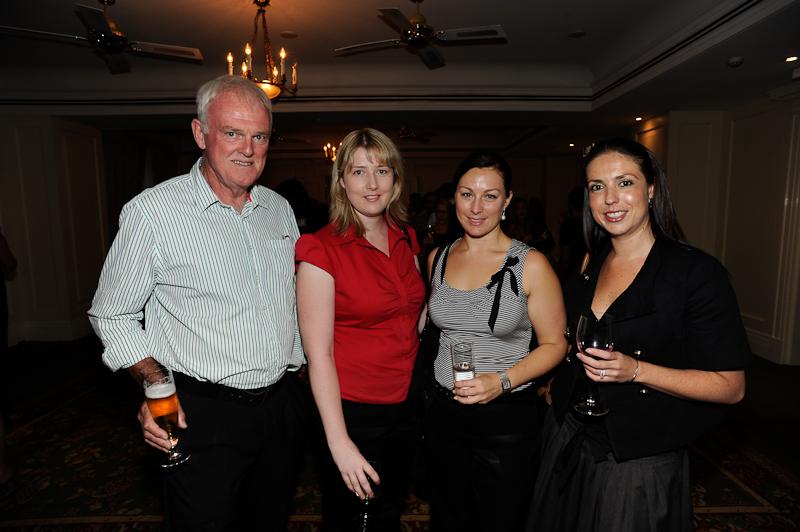 Ken Martin (Freelance), Emma Sturgiss (Tourism Australia), Lisa Phillips (Toga) and Zoe Wesley (Toga)