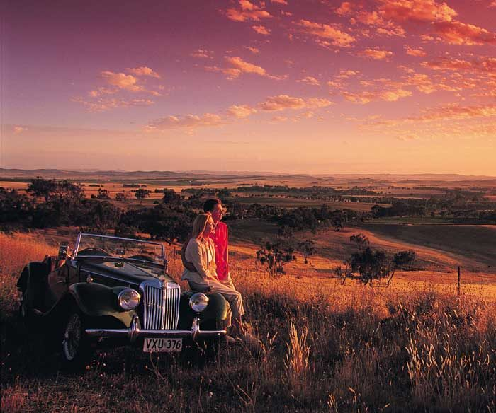The Clare is the most Australian landscape of the SA Wine regions