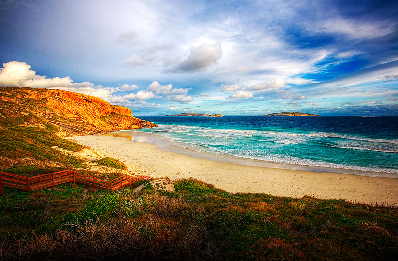 Esperance is insanely beautiful, and is described by most who see the remote area as the most beautiful coastline in Australia. Image of West Beach by Jonathan Pang www.jonathanpang.com.au