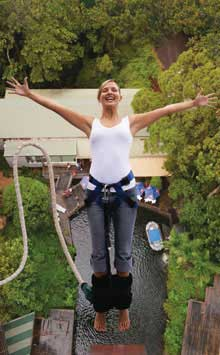 The Hardest Part of Bungy Jumping? You have to take the first step...
