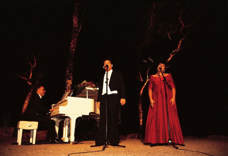 Opera at the Undara Lava Tubes, Qld