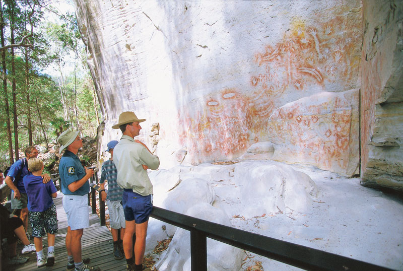 Rock Art Galleries at Carnarvon Gorge, Qld