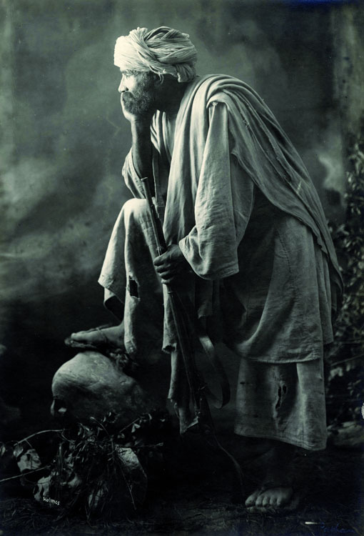 Pashtun man, Afghanistan, 1919 by R.B.Holmes (Royal Geog Soc)