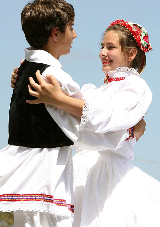 Children dancing at a Croatian Folklore Festival, 2007. Source: Lovric's Photography