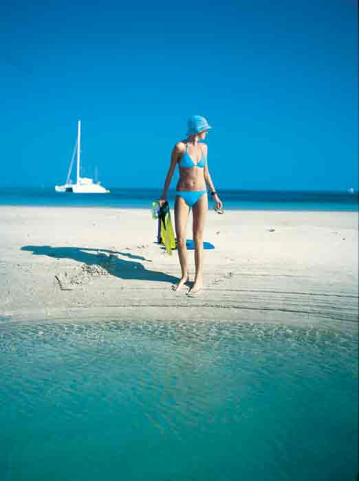 Crewed and bareboat cruising options in the Whitsundays are virtually without end.