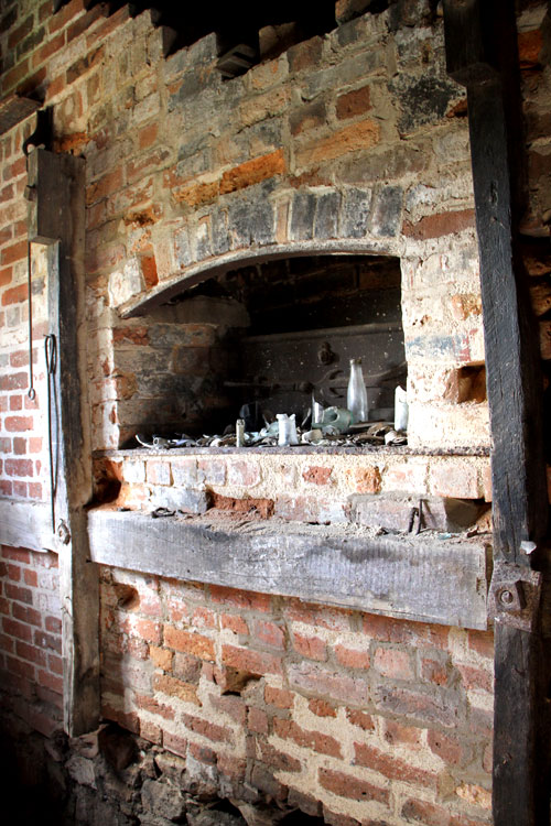 The historic oven at the Arnott Bakery