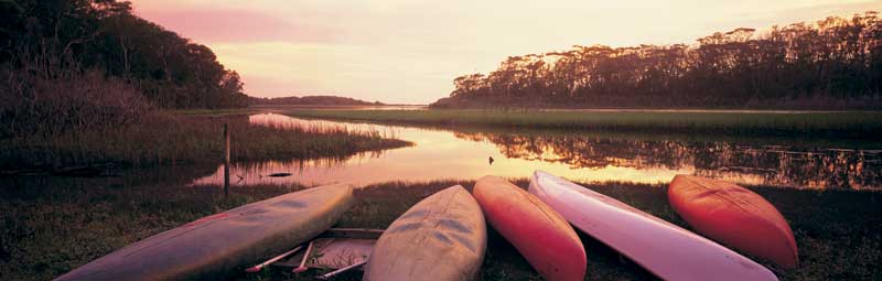 The kayaking Nirvana of Mimosa Rocks National Park on the NSW south coast.