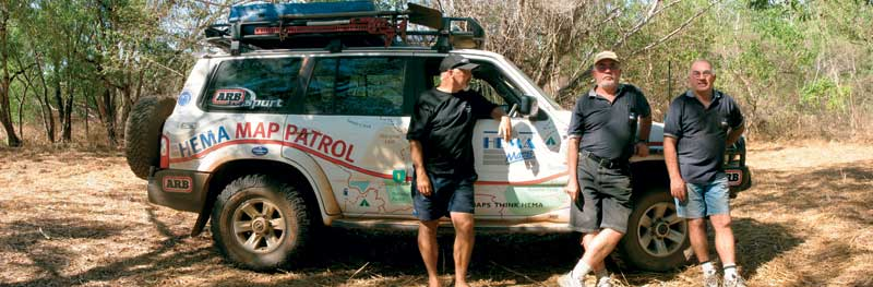 Those adventurous HEMA lads out on Map Patrol.