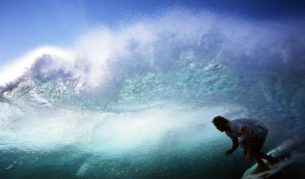 Surf Summercloud Bay, Wreck Bay, Aussie Pipeline, Black Rock - near Jervis Bay