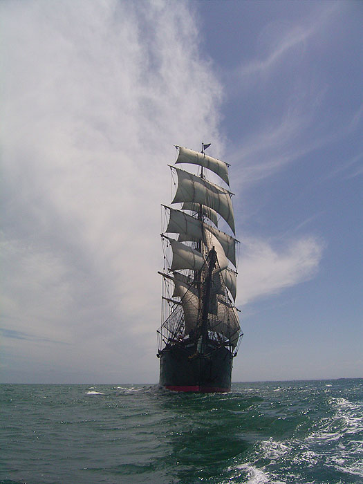 Take a unique sail into Australia's history . Image by John Spiers, Sydney Heritage Fleet