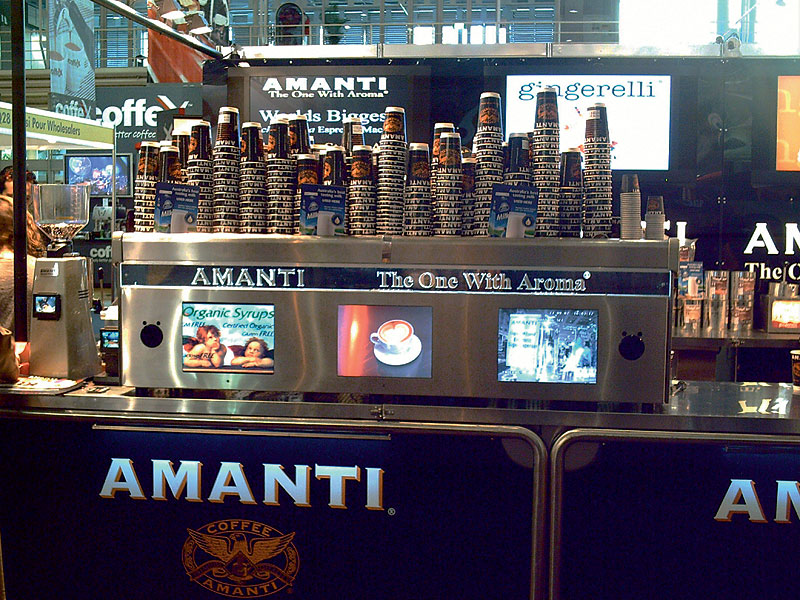 Ultimate in caffeine fixes. Image by Amanti Factory