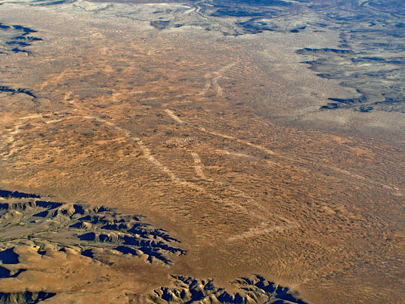 Fly over the world's biggest geoglyph. Image by www.wrightsair.com.au