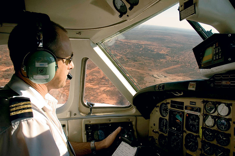 Fly through the world's largest waiting room. Image by the RFDS