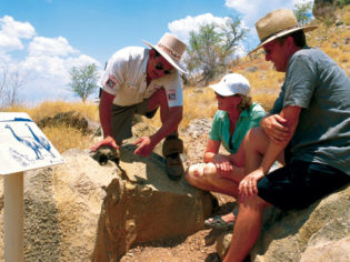 Peer deep into the past at Riversleigh. Image by Tourism QLD