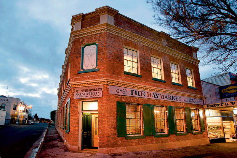 Excellent boutique lodgings at the restored Haymarket. Image by Tourism VIC