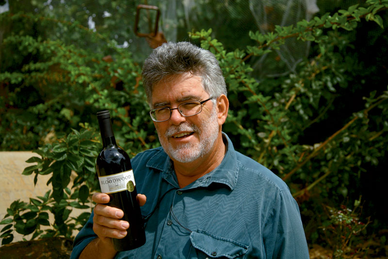 Steven Doyle from Bloodwood winery. Image by Tom Barclay