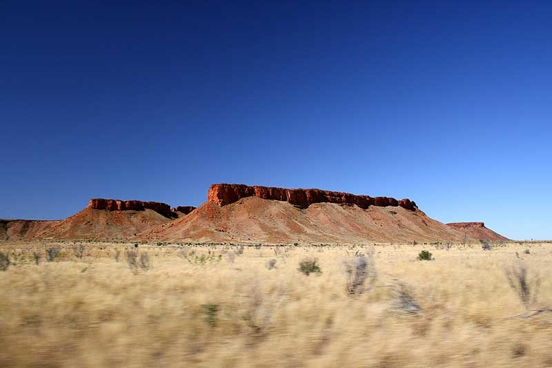 Canning Stock Route Rock Formation