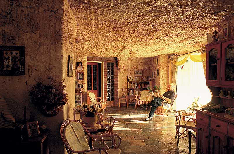Classic Coober Pedy -- mostly underground. - SA Tourism
