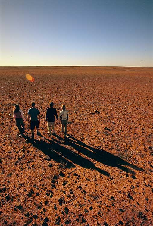 Coober Pedy�s stark Moon Plain. - SA Tourism