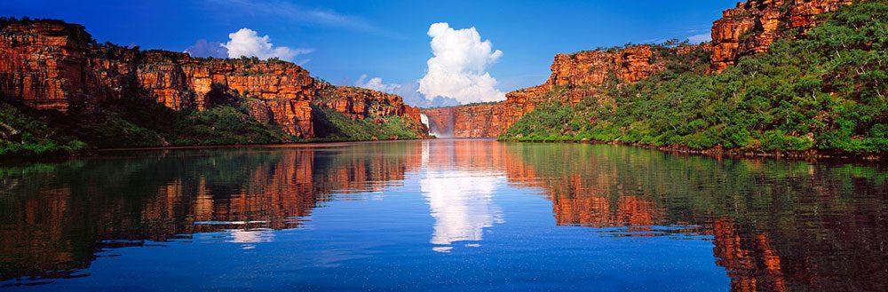 10. Kimberley Reflections, King George Falls