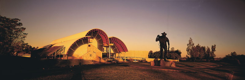 The Australian Stockman's Hall of Fame and Outback Heritage Centre. Image by Tourism QLD