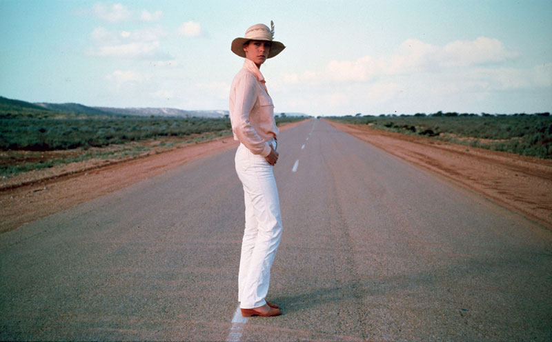 Jamie Lee Curtis in Road Games. Image by NFSA.