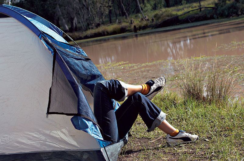 Backpackers always seem to be having the best holidays - so why not adopt their carefree approach? The worst that could happen is that you may end up having a thrifty, fun-filled, budget-savvy break. Image by Tourism QLD.