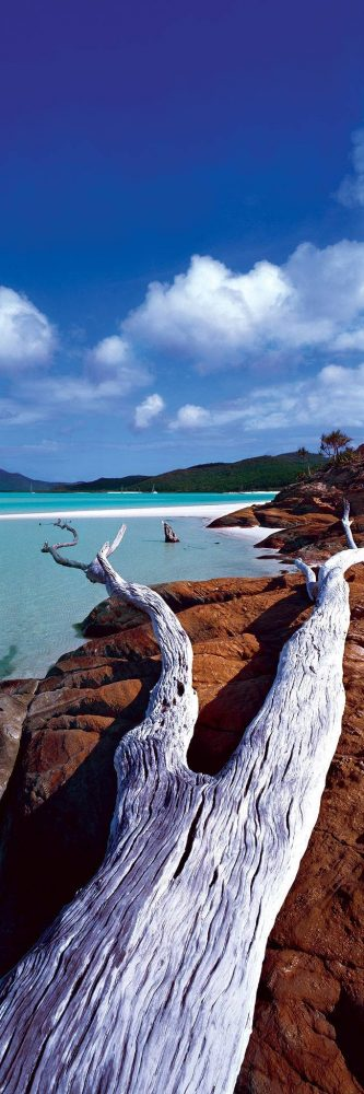 The superb contrasts of the magnificent Whitsundays beaches make them among the best in the world. Image by Ken Duncan