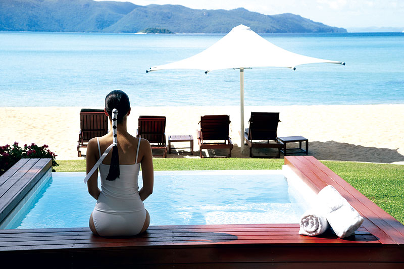 Hayman Resort is well known for luxury and contemporary elegance, Image by Tourism Qld