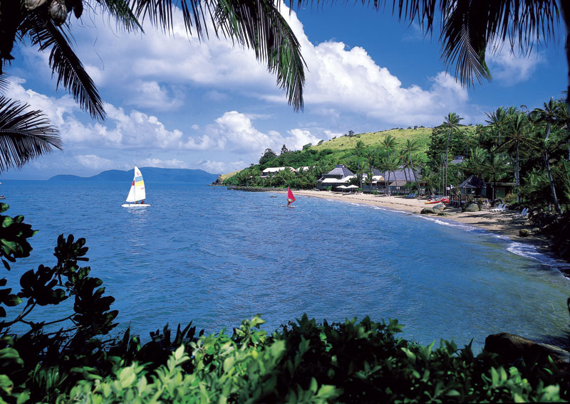 Lindeman Island was once all about activities, activities, activities. Now left idle the island is a paradise for campers, walkers and day trippers.  Image by Tourism Qld