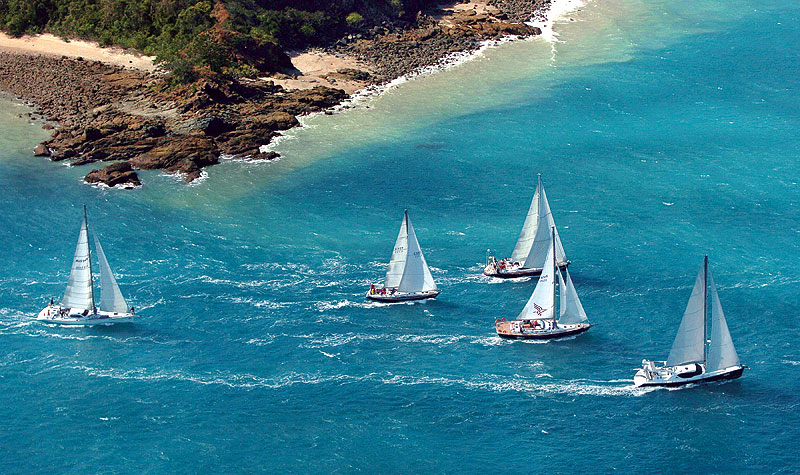 Anyone for sailboat races around Hamilton Island? The Hamilton Island Yacht Club will be open by August '09. Image by Tourism Qld