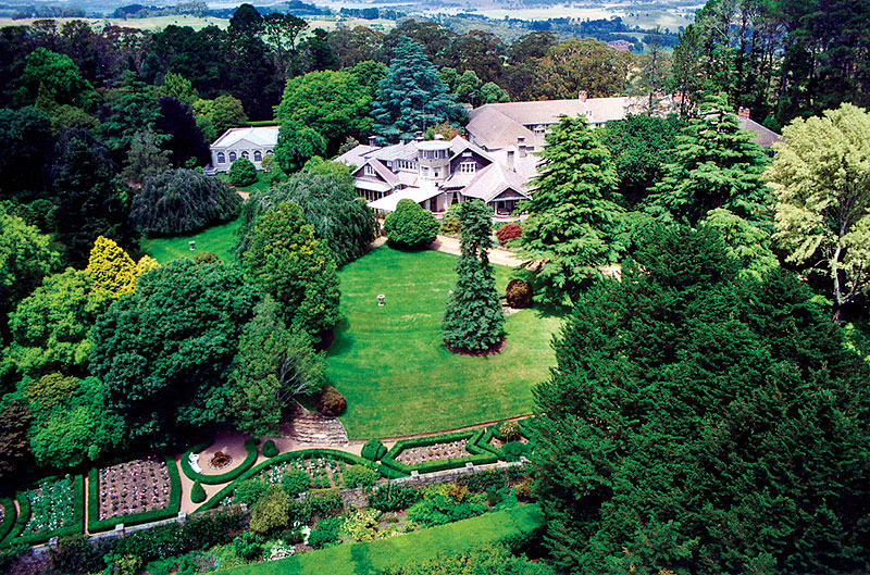 the magnificent Milton Park Country House just outside Bowral.
