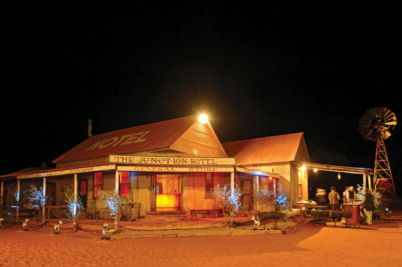 Ooraminna Homestead was originally a film set. Image by Tourism NT