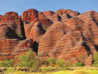 Get lost in the labyrinth that is Purnululu. Image by Tourism WA