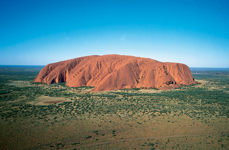 The King of the Outback... Uluru. Image by Tourism NT