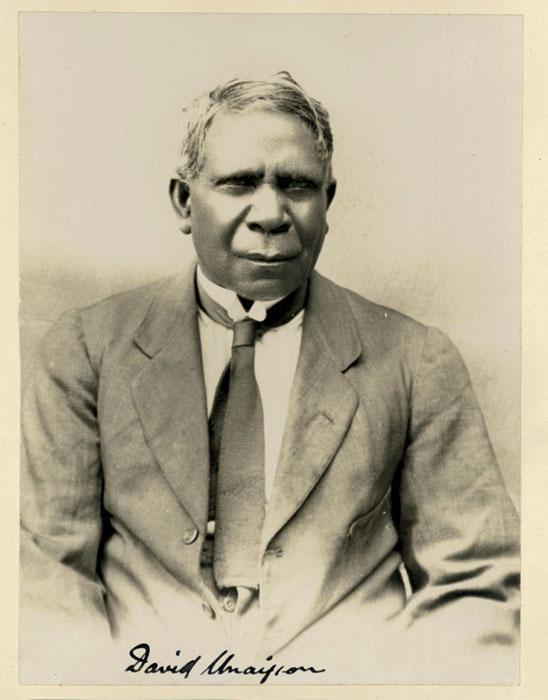 Indigenius, David Unaipon. Image by the State Library of NSW