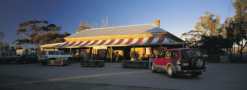 Prairie Hotel, home of the famous Flinders Feral Food range. Image by Tourism SA