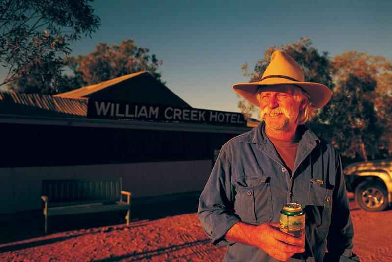 The multi-purpose William Creek Hotel. Image by Tourism SA