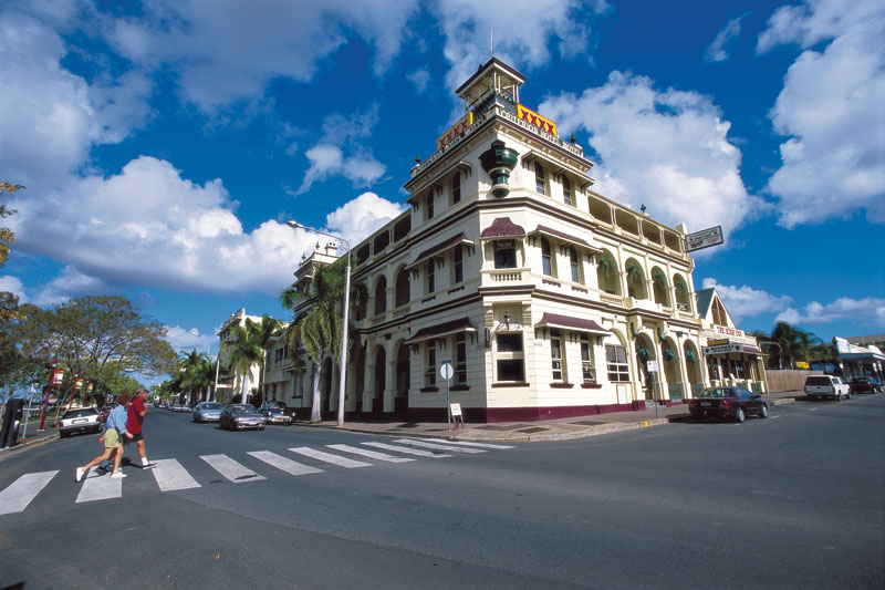 If it is good enough for the Queen, it is good enough for us. The Criterion of Rockhampton. Image by Tourism QLD