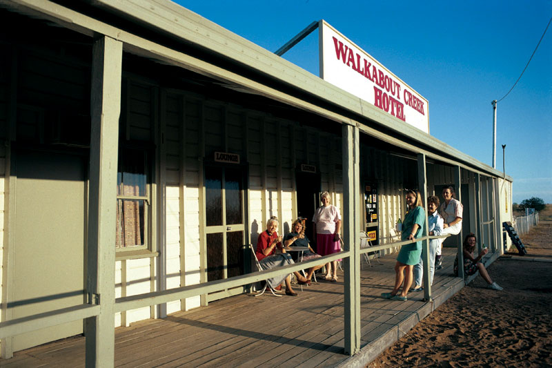The Walkabout Creek Hotel, home of Mick Dundee. Image by Tourism QLD