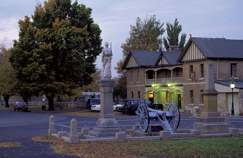 Man'O'Ross Hotel in Tasmania, representing temptation. There is only one to rid yourself of temptation... Image by Tourism Tasmania