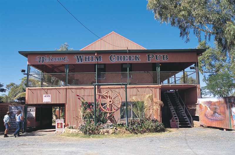 Whim Creek Hotel, Pilbara. Image by Tourism WA