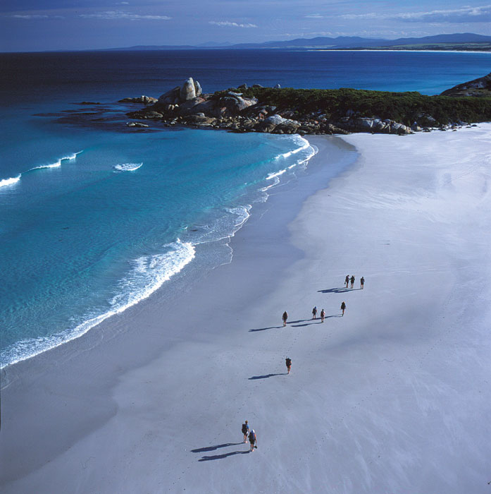 Just look at it! Bay of Fires, Tasmania. Image by Anthology Travellers' Collection