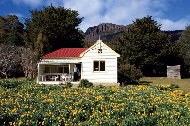 """I call this one Daffodilia. The house was built in 1934, and I've been living there since 1971. Each spring, thousands of daffodils come out in the remnants of the old farm garden. The house is on a walking path and I have a 'Trespassers Welcome' sign out the front."" Image & words by Senator Bob Brown"