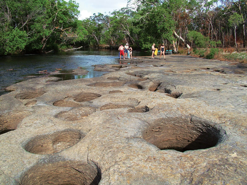 River swimming in Cape York. Image by Wilderness Challenge